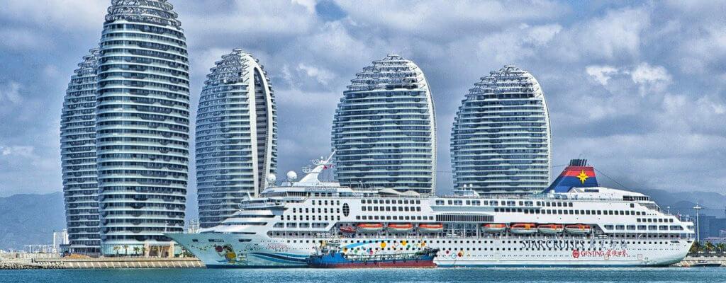 China Hainan Kreuzschiff