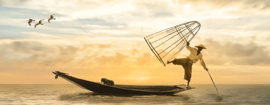 Fischer in Vietnam