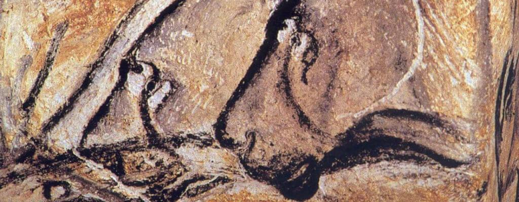 Zeichnung Chauvet Höhle