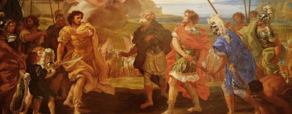 Streit Achilles und Agamemnon