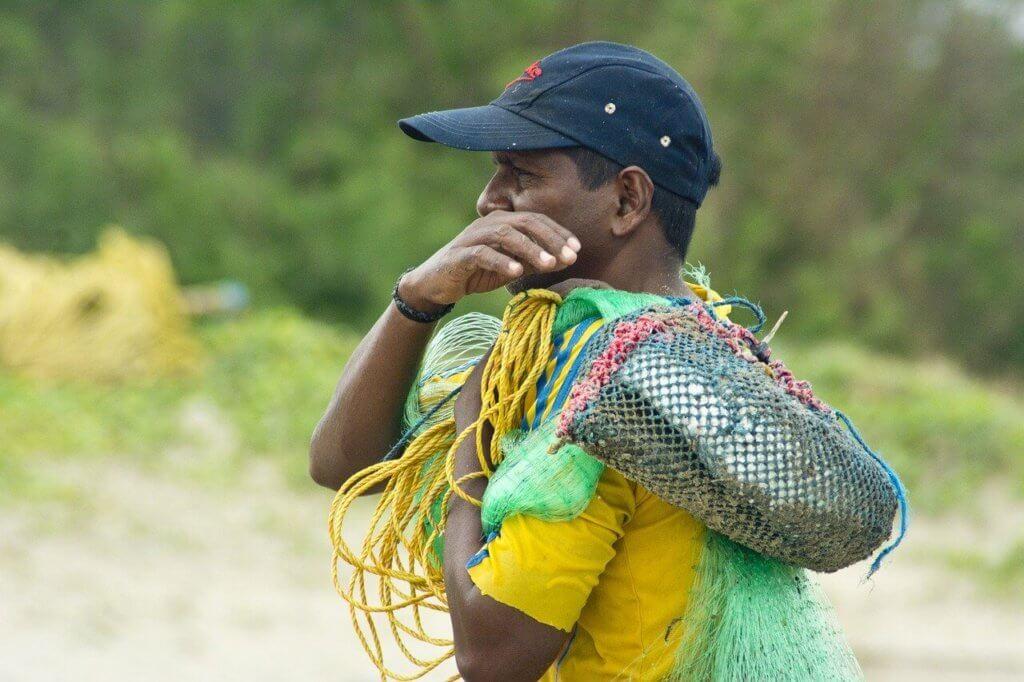 Fischermann in Goa