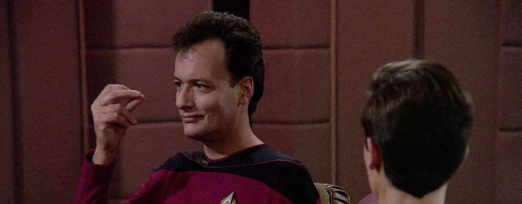 Star Trek Q Figur