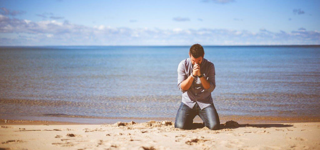 beten höhere Macht