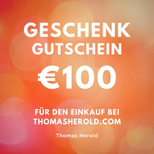Geschenk Gutschein €100