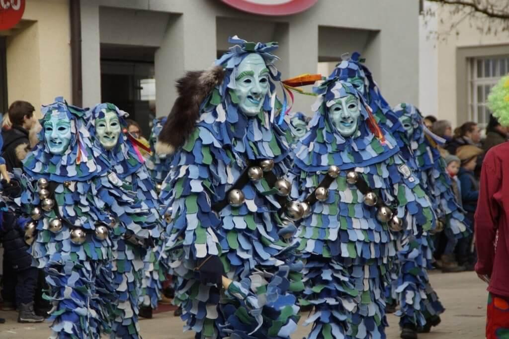 Karneval Umzug - Wassergeister