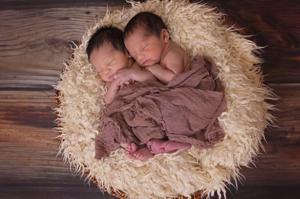 Zwillinge Babies