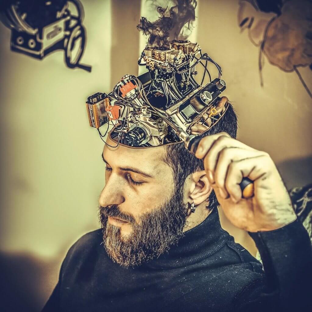 Mechanik Gehirn