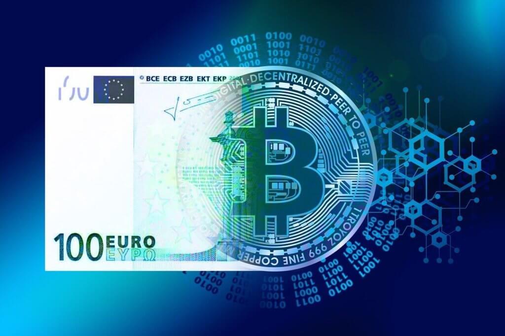Euro Bitcoin Digitales Geld